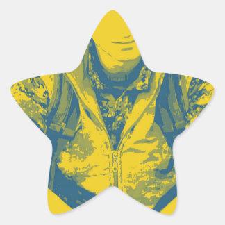 YPG Soldier 3 Art 4 Star Sticker