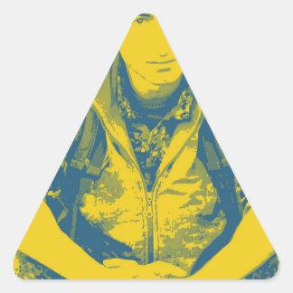 YPG Soldier 3 Art 4 Triangle Sticker