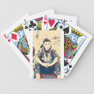 YPG Soldier 3 Art Bicycle Playing Cards