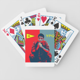 YPG Soldier 4 art 2 Bicycle Playing Cards