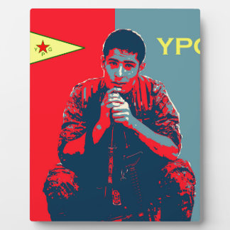 YPG Soldier 4 art 2 Plaque