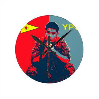 YPG Soldier 4 art 2 Round Clock