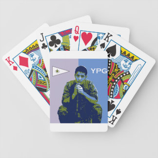 YPG Soldier 4 art 3 Bicycle Playing Cards