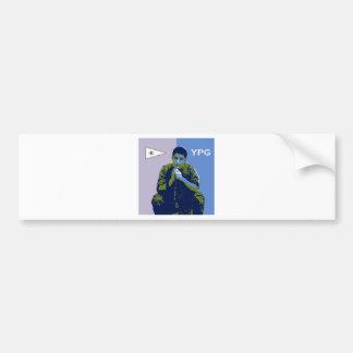YPG Soldier 4 art 3 Bumper Sticker