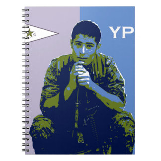 YPG Soldier 4 art 3 Notebooks