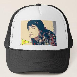 YPG Soldier art Trucker Hat