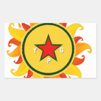 ypg - sun sticker