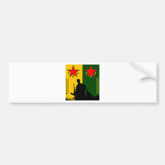ypg-ypj 2 bumper sticker
