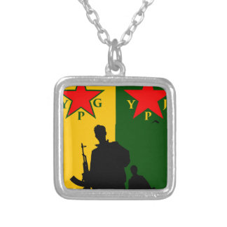 ypg-ypj silver plated necklace