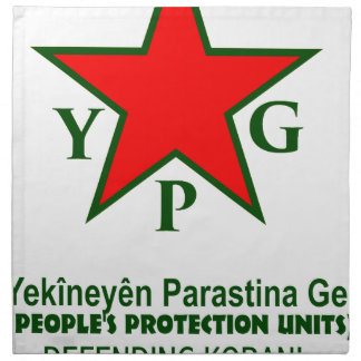 ypg-ypj - support kobani -clear napkin