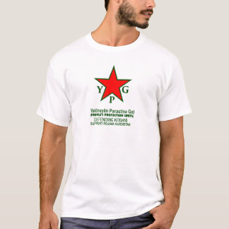 ypg-ypj - support kobani -clear T-Shirt