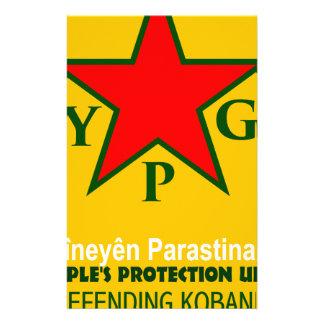 ypg-ypj - support kobani stationery