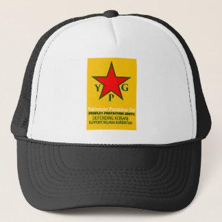 ypg-ypj - support kobani trucker hat