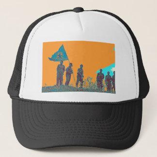 YPJ art Trucker Hat