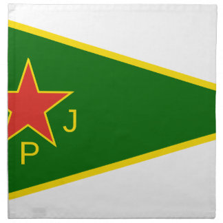 YPJ Flag Napkin