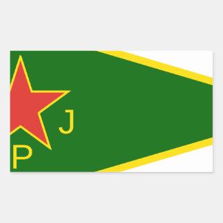 YPJ Flag Sticker