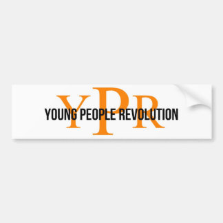 YPR Bumper sticker