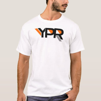 YPR Tee- Gray stripe T-Shirt