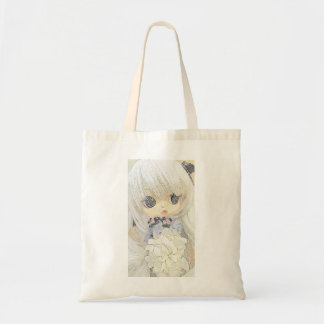 'Ysabelle' Anime Doll tote bag