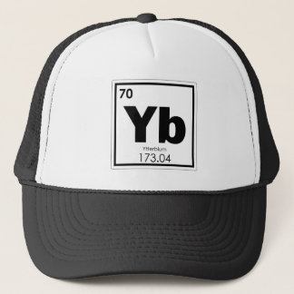 Ytterbium chemical element symbol chemistry formul trucker hat