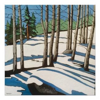 Yuba Gap Winter Perfect Poster