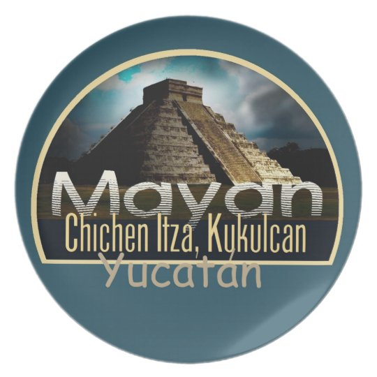 YUCATAN Mexico Plate