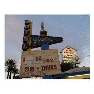 Yucca Motel Las Vegas Postcards