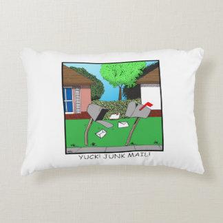 Yuck! Junk Mail! Accent Pillow