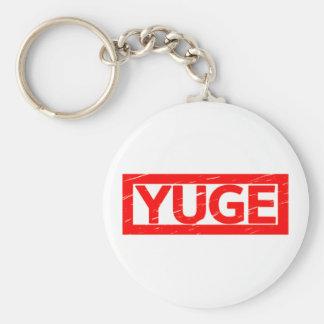 Yuge Stamp Keychain
