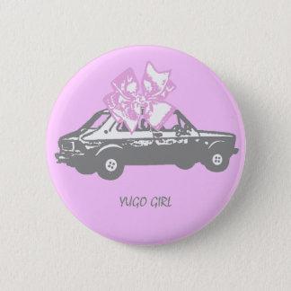 Yugo girl 2 inch round button