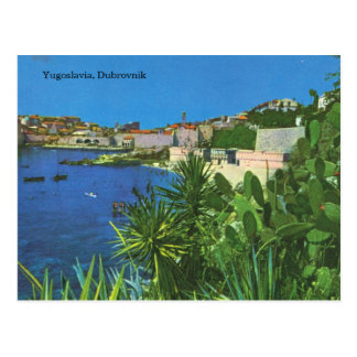 Yugoslavia, Dubrovnik Postcard