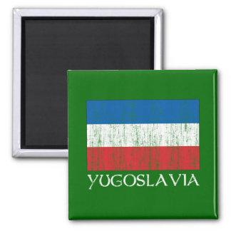 Yugoslavia Flag Magnet