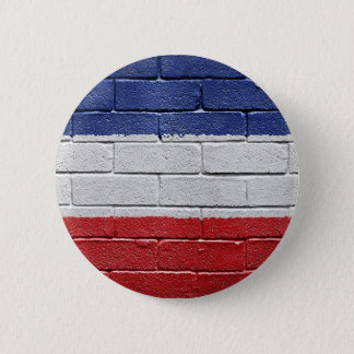 Yugoslavia Kingdom Flag 2 Inch Round Button