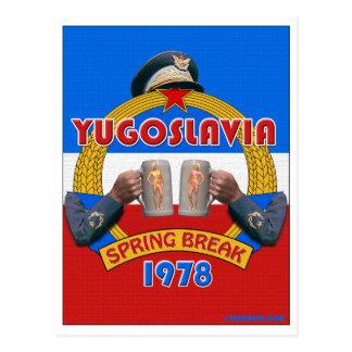 Yugoslavia Spring Break 1978 Travel Postcards