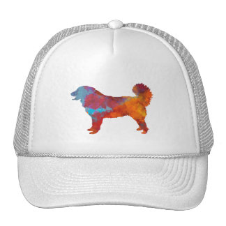 Yugoslavian Shepherd DOG in watercolor Trucker Hat