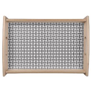 Yukata Pattern A Serving Tray