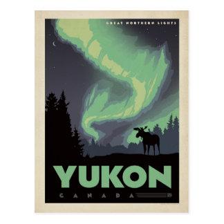 Yukon, Canada Postcard