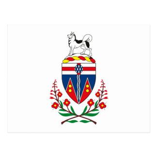 Yukon Coat of Arms Postcard