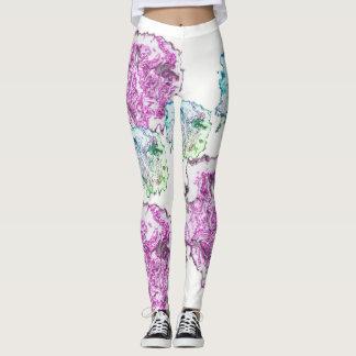 Yukti- color wash leggings