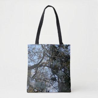 Yulan Magnolia #2 All Over Print Tote Bag