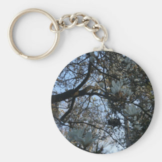 Yulan Magnolia #2 Keychain