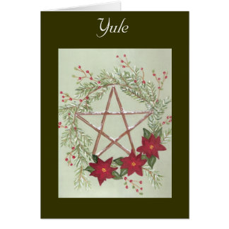 Yule Blessing Card