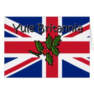 Yule Britannia Card