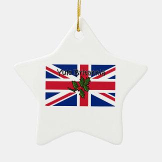 Yule Britannia Ceramic Ornament