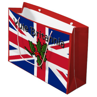 Yule Britannia Large Gift Bag