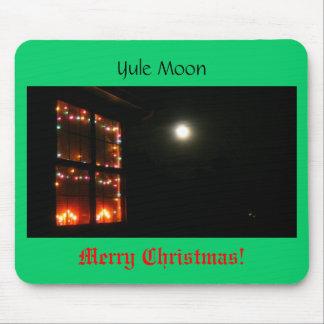 Yule Moon Mouse Pad
