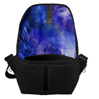 Yule Night Dreams Messenger Bag