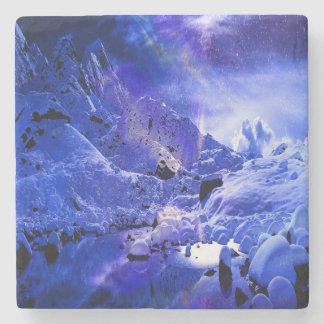 Yule Night Dreams Stone Coaster