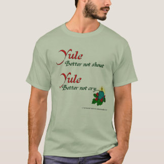 Yule/Odin Coming to Town Basic T-Shirt