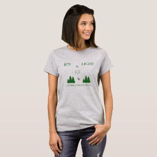Yule Shirt- Joy and Light on the Longest Night! T-Shirt